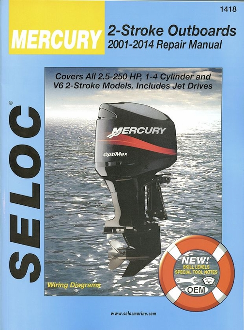 mercury 8hp 2 stroke service manual