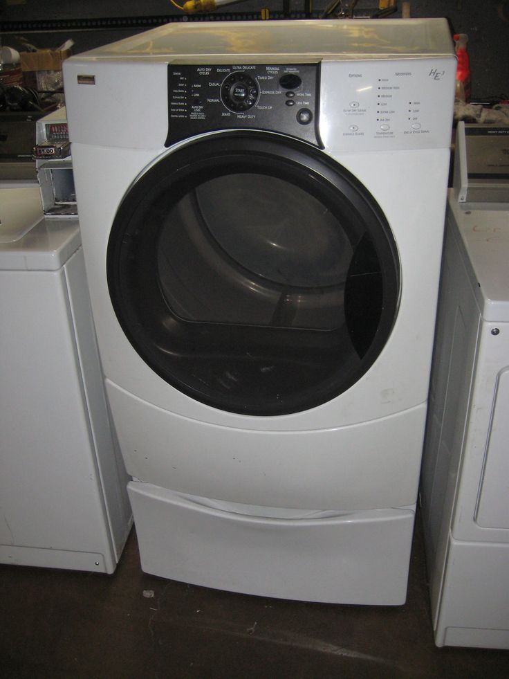 frigidaire front load washer manual