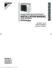 daikin r410a split series operation manual