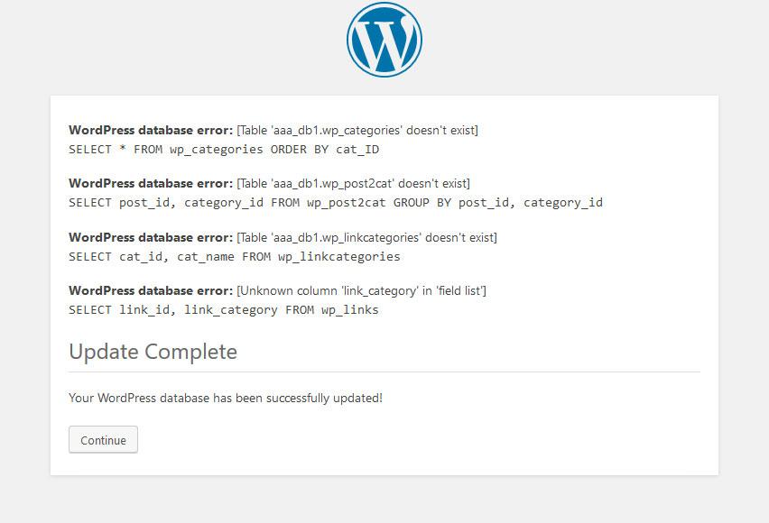 how to upgrade wordpress manually