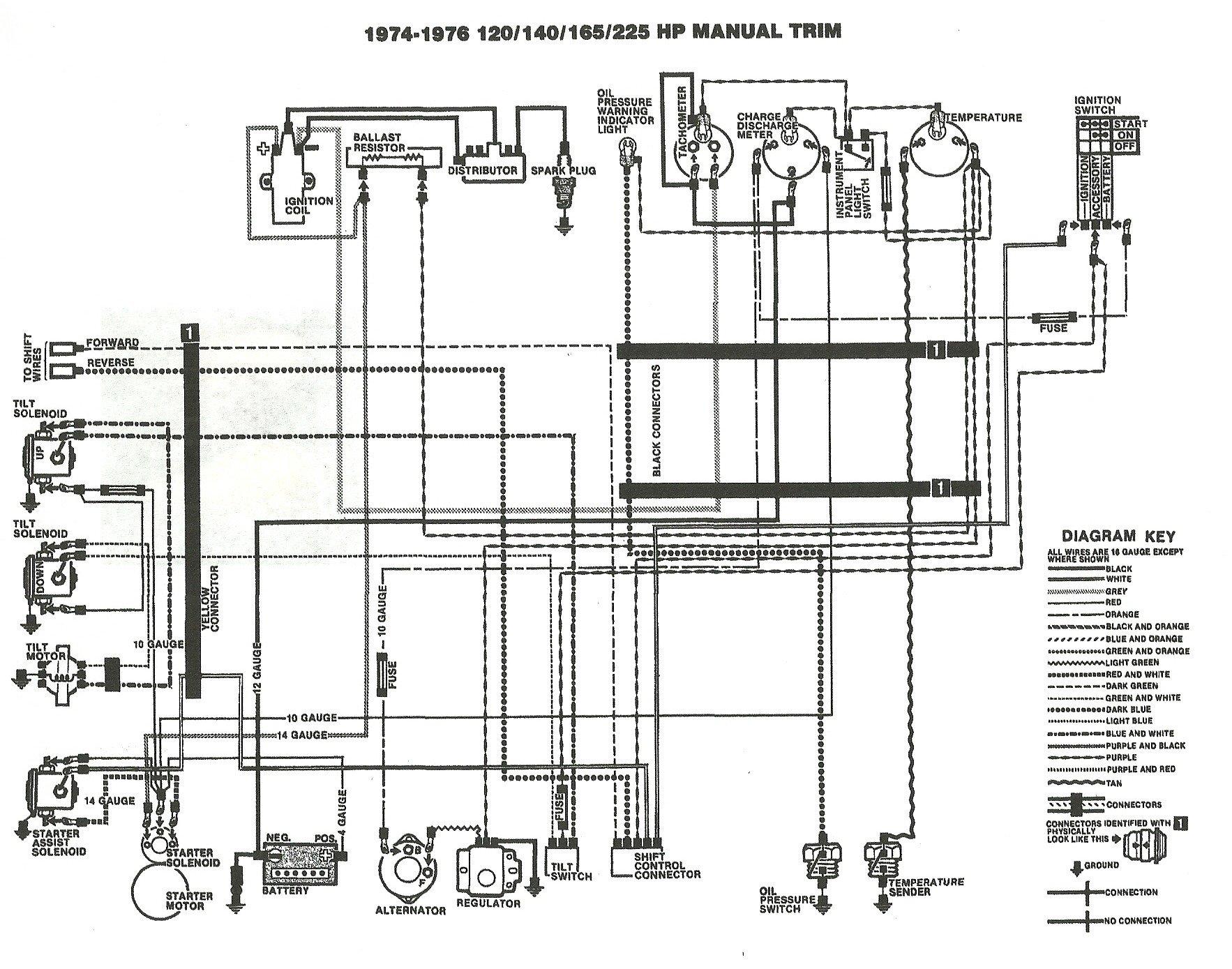 mercruiser 165 inline 6 manual