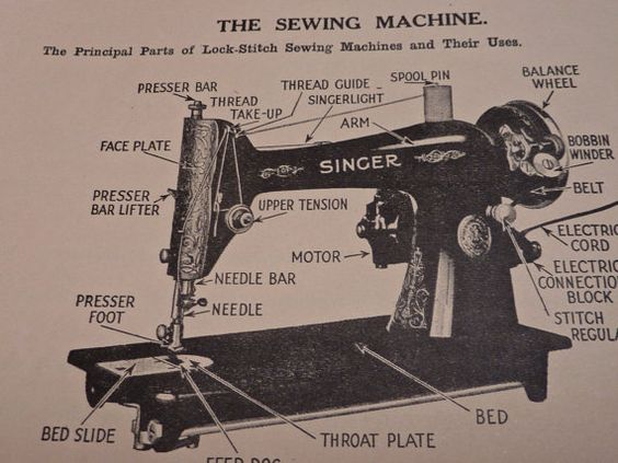 singer sewing machine manual 1949
