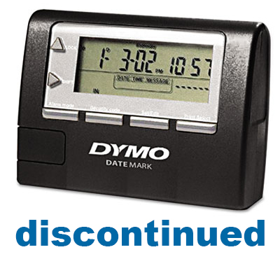 dymo datemark electronic date time stamper manual