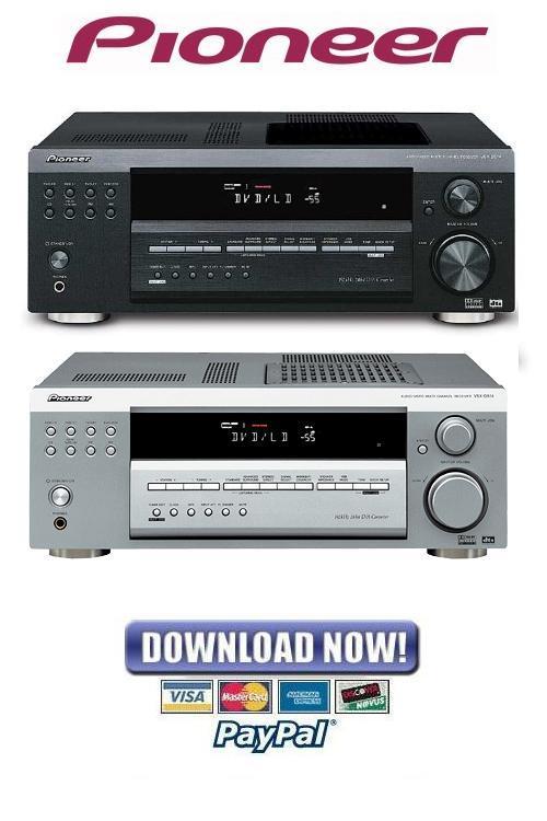 pioneer receiver manual vsx 522