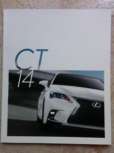 2014 lexus ct200h owners manual