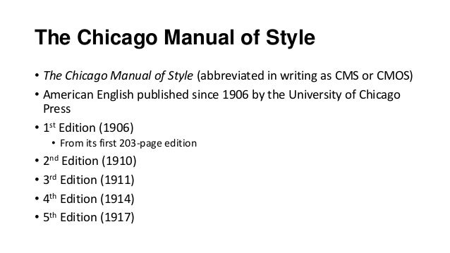 chicago manual of style time