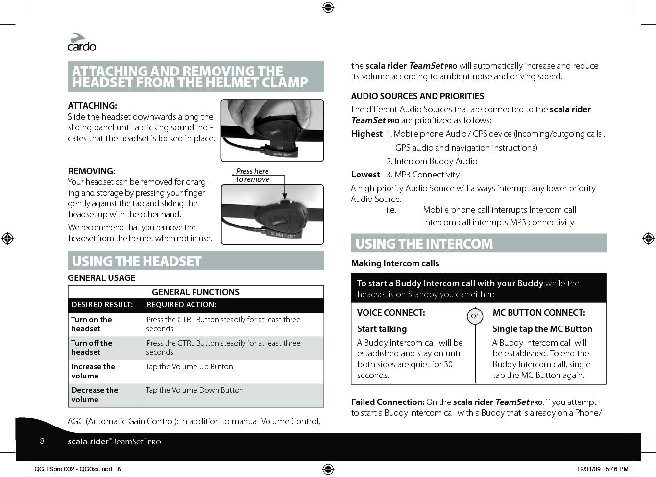cardo scala rider q2 manual