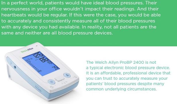 welch allyn manual blood pressure