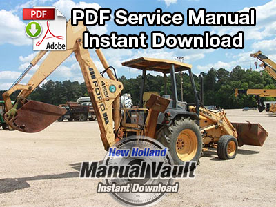 ford 555 backhoe service manual free download