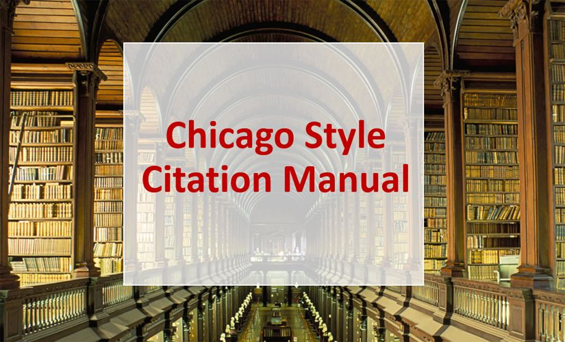 in text citation chicago manual of style