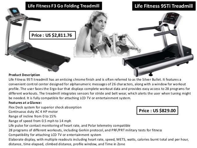 life fitness 95ti treadmill manual