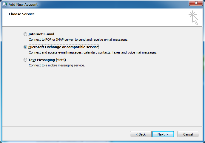 manually configure office 365 outlook