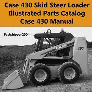 case 430 skid steer operator manual