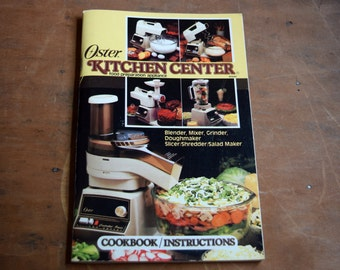 oster regency kitchen center manual pdf