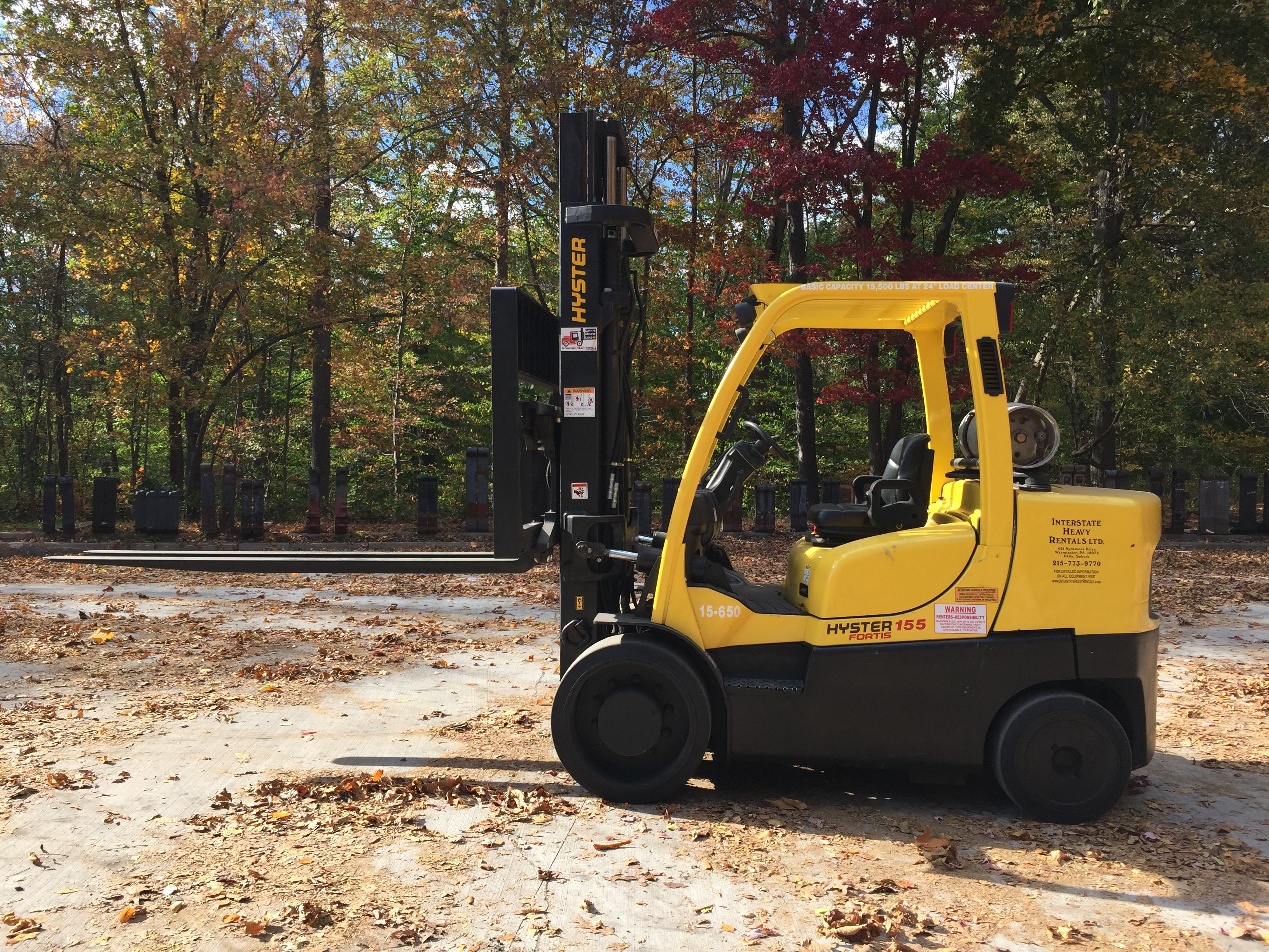 hyster 2.5 fortens manual