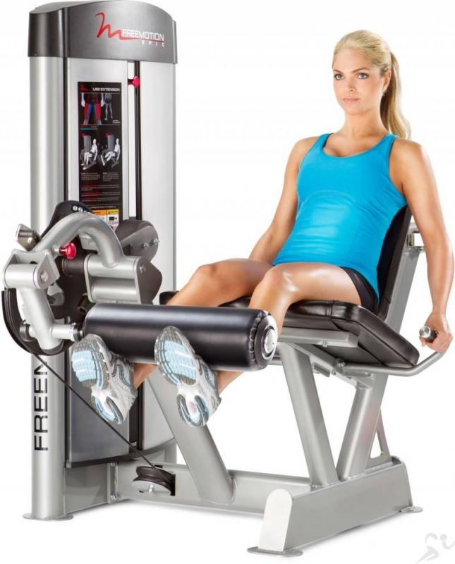 life fitness leg extension manual