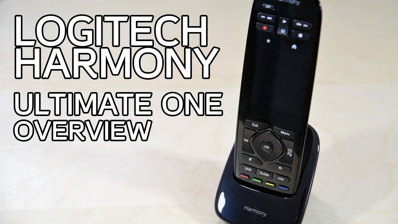 logitech harmony one remote manual