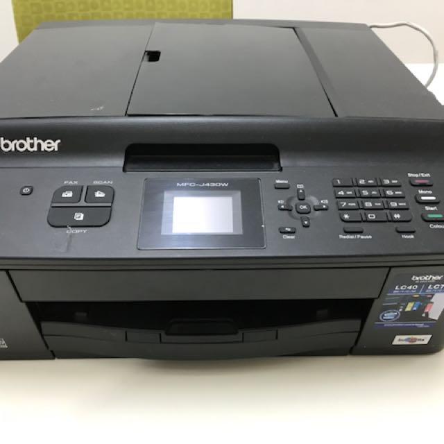 manual for brother printer mfc j430w