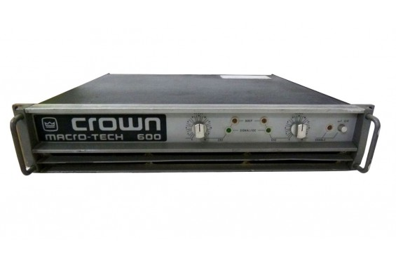 crown macro tech 1200 manual