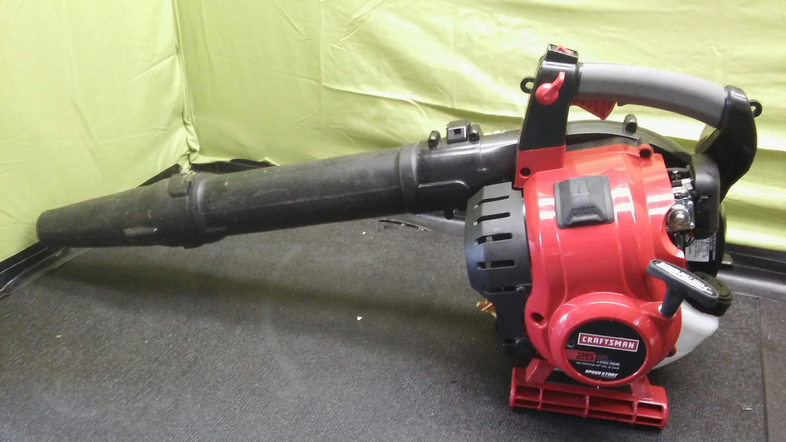 craftsman 25cc gas blower manual