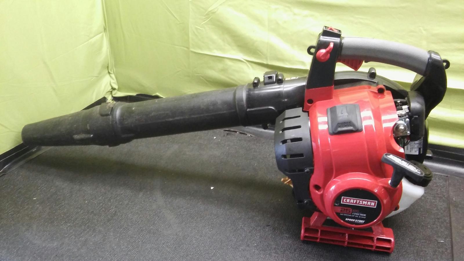 craftsman 25cc gas blower manual