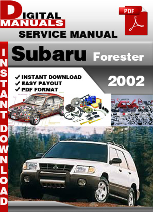 2006 subaru forester service manual pdf