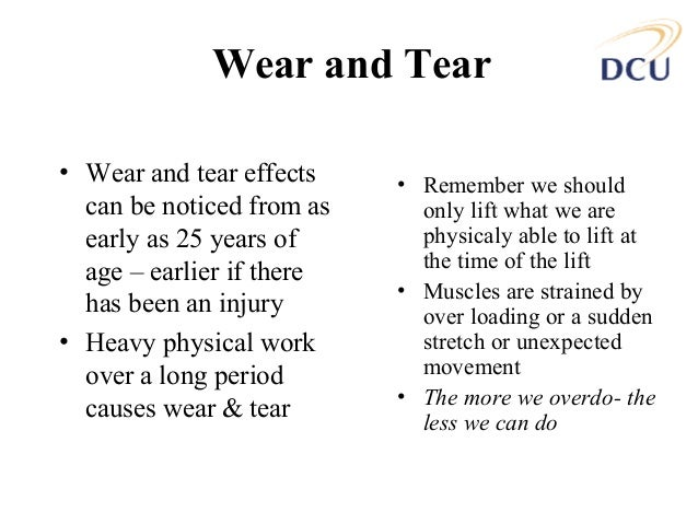 a common injury that occurs due to poor manual handling