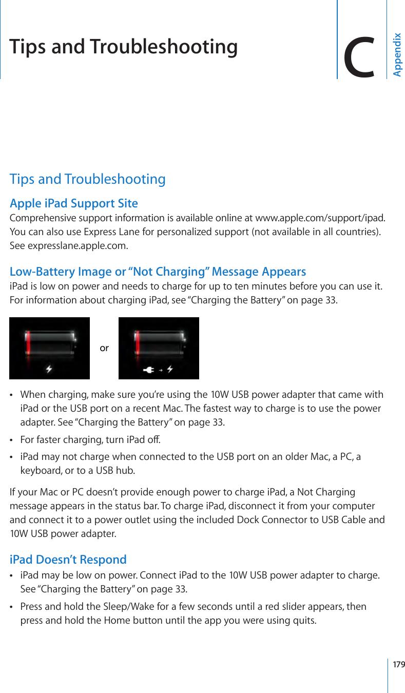 apple ipad model a1395 user manual