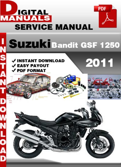 suzuki bandit gsf 250 manual