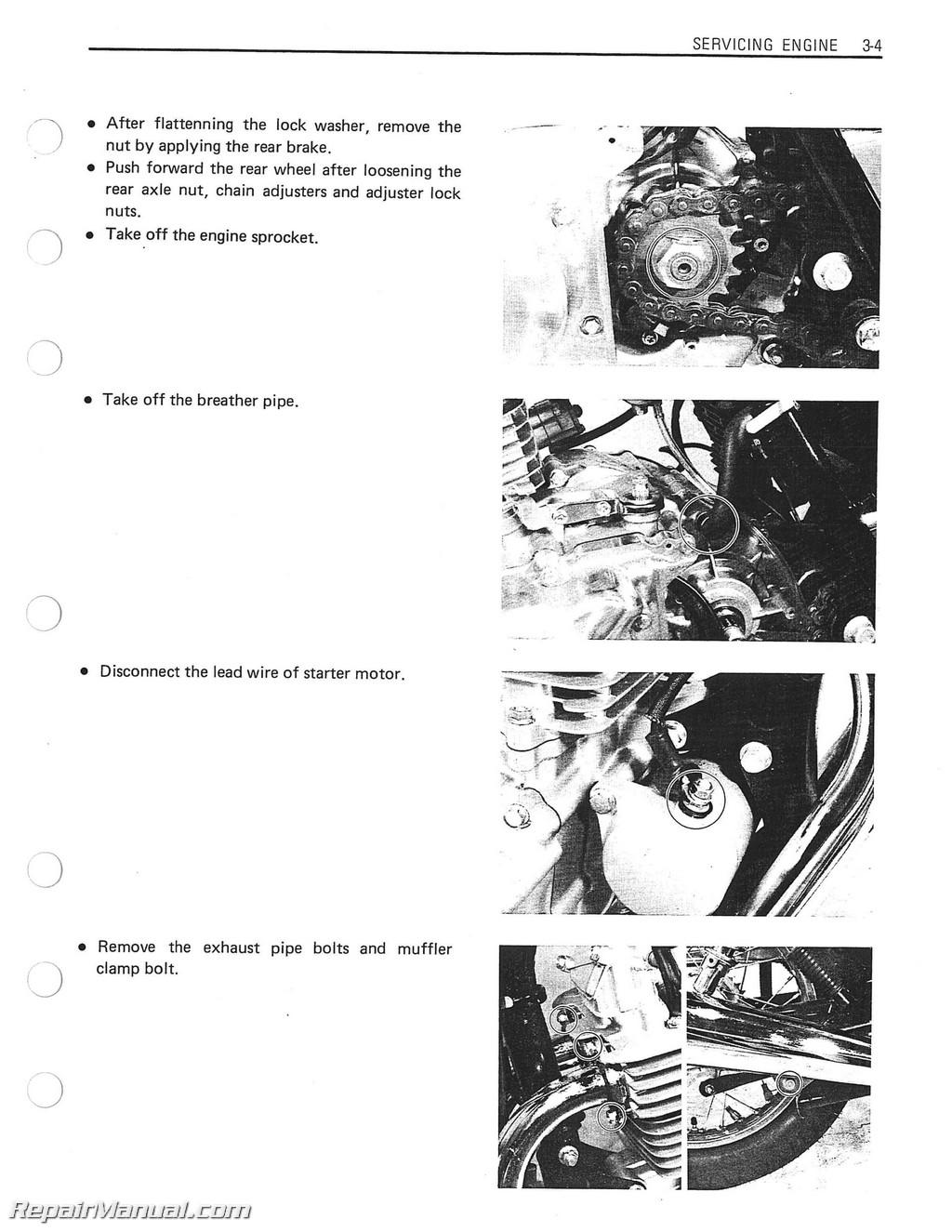 suzuki boulevard s40 service manual