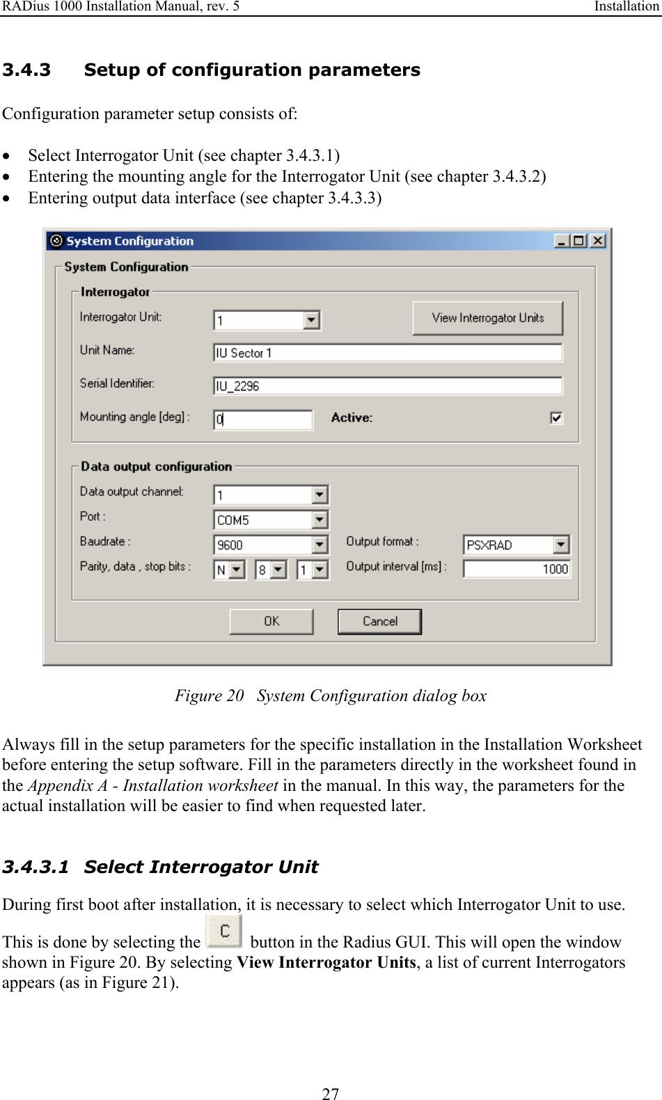10 20 system positioning manual
