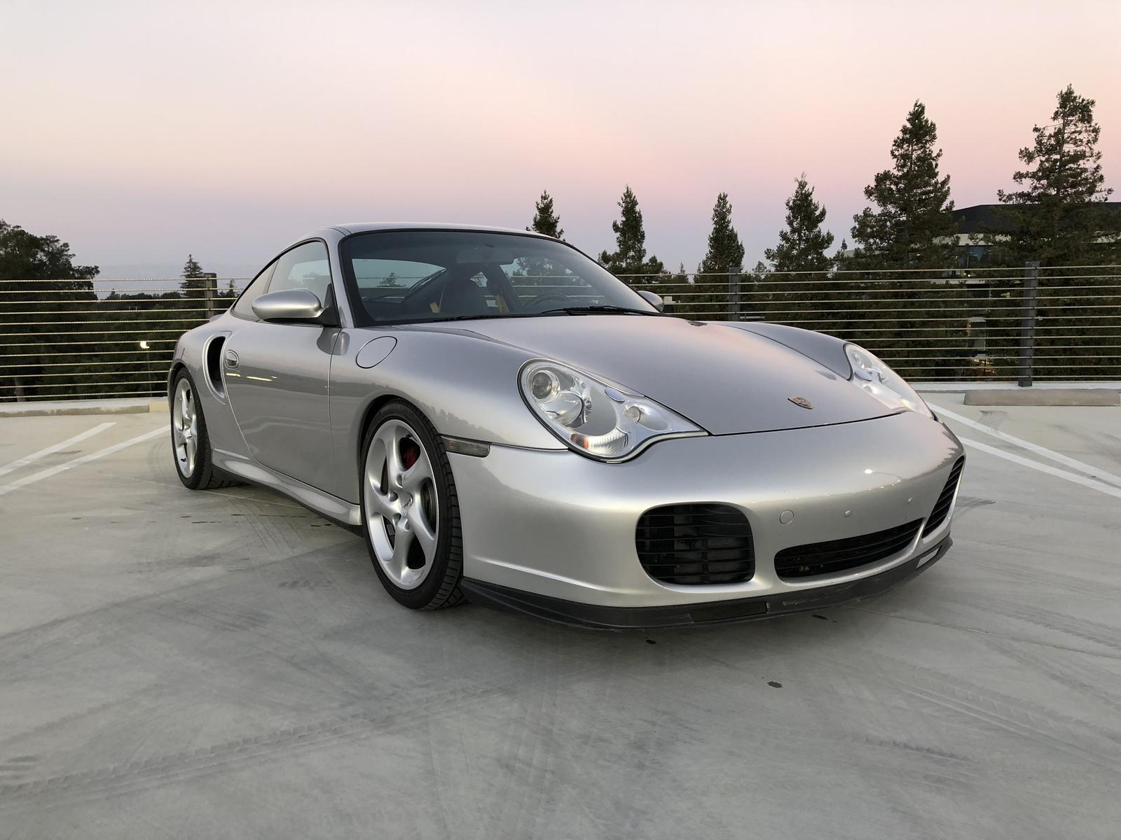2001 porsche 911 turbo 996 manual