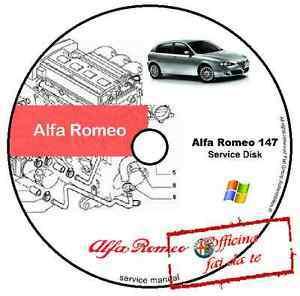 alfa romeo 147 workshop manual pdf