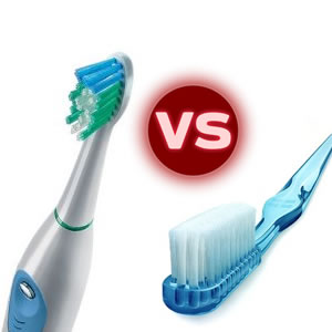 are electric toothbrushes better than manual ones