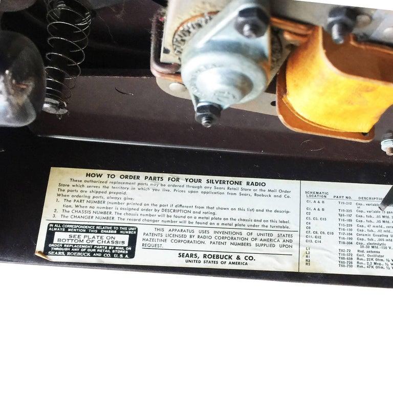autorama crosley record player manual