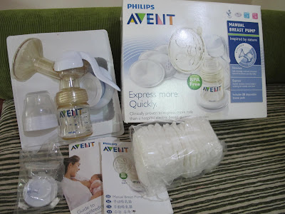 avent manual breast pump spare parts