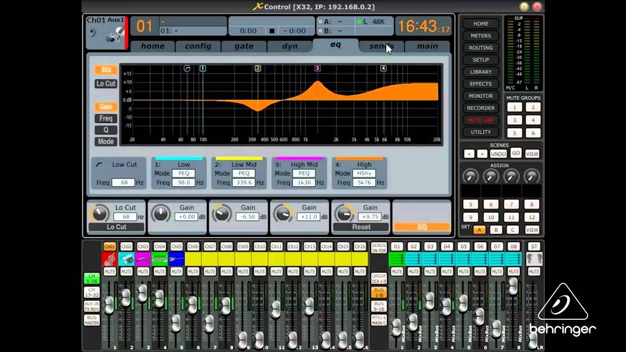 behringer x32 producer manual download