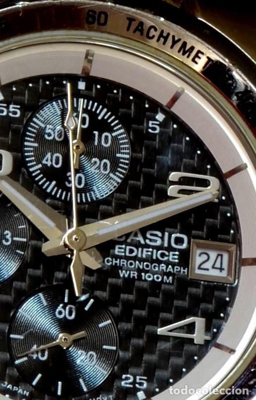 casio edifice chronograph wr100m manual