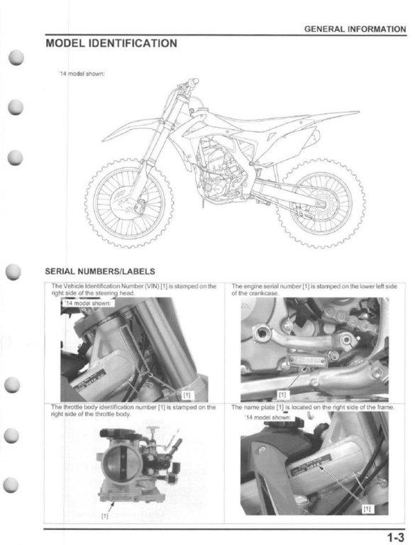 2009 crf450r service manual pdf