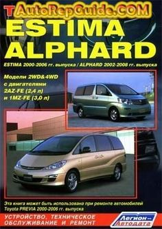 toyota estima 2006 manual book