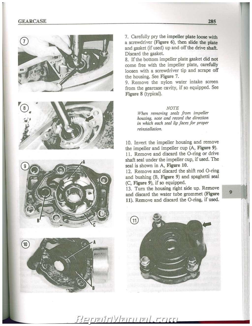 johnson evinrude service manual free