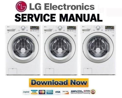 lg front load washing machine instruction manual