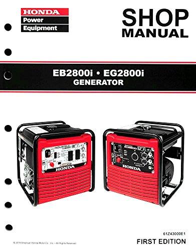 honda eb 2800 generator manual