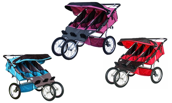 bebelove triple jogging stroller manual