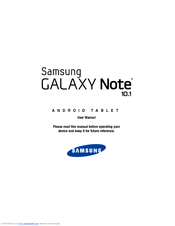 samsung gt p5100 user manual