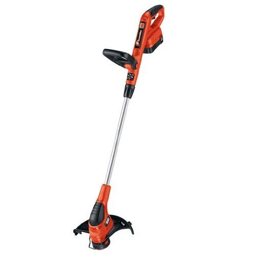 black and decker cordless trimmer manual