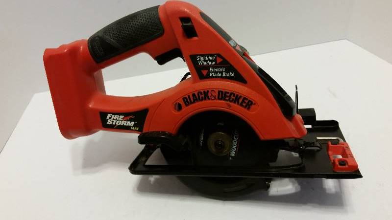 black and decker firestorm circular saw manual