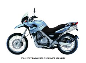 bmw g 650 gs repair manual