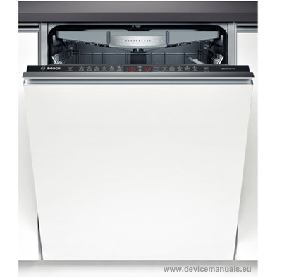 bosch classixx dishwasher manual pdf