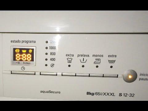 bosch exxcel 7 varioperfect washing machine manual